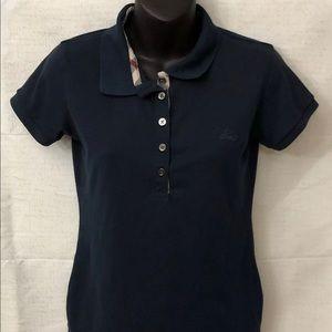 Burberry women's medium polo shirt